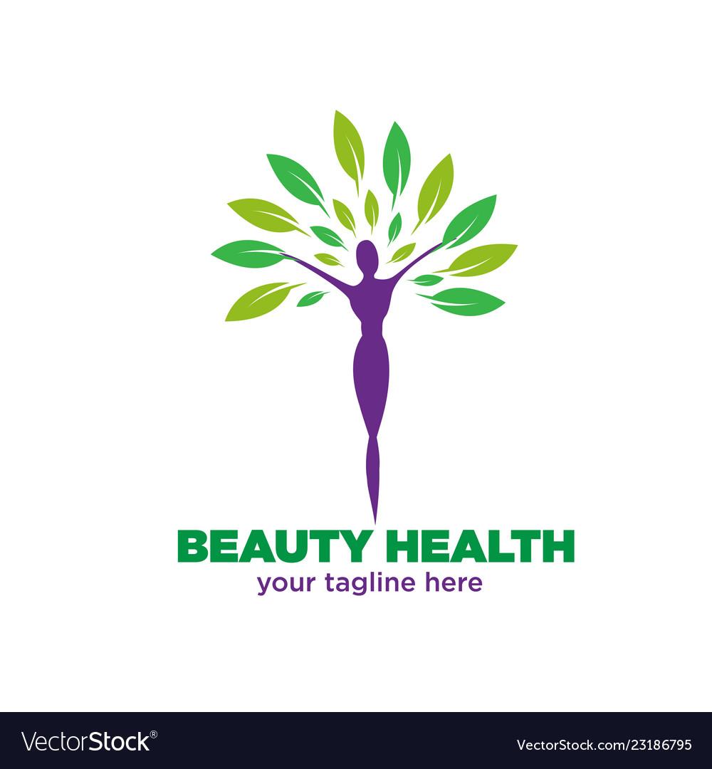 Health and beauty logo