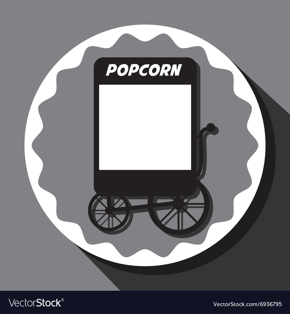 Pop corn food stand