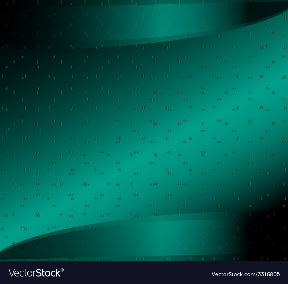 Digital green background with dots