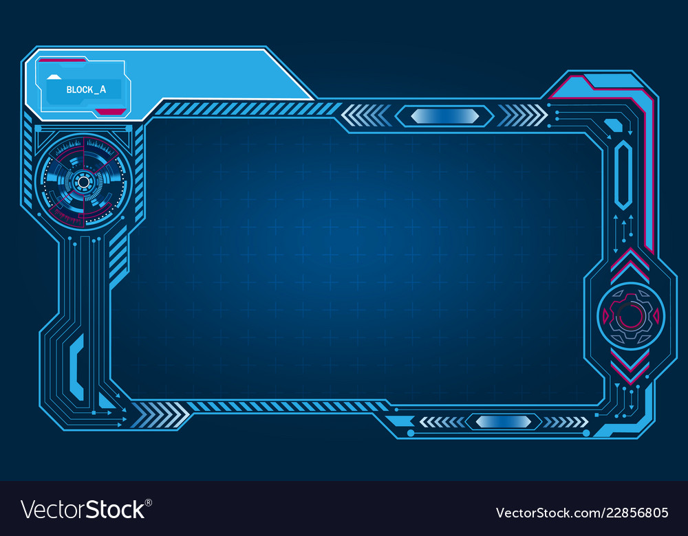 Graphic presentation asymmetric computer panel