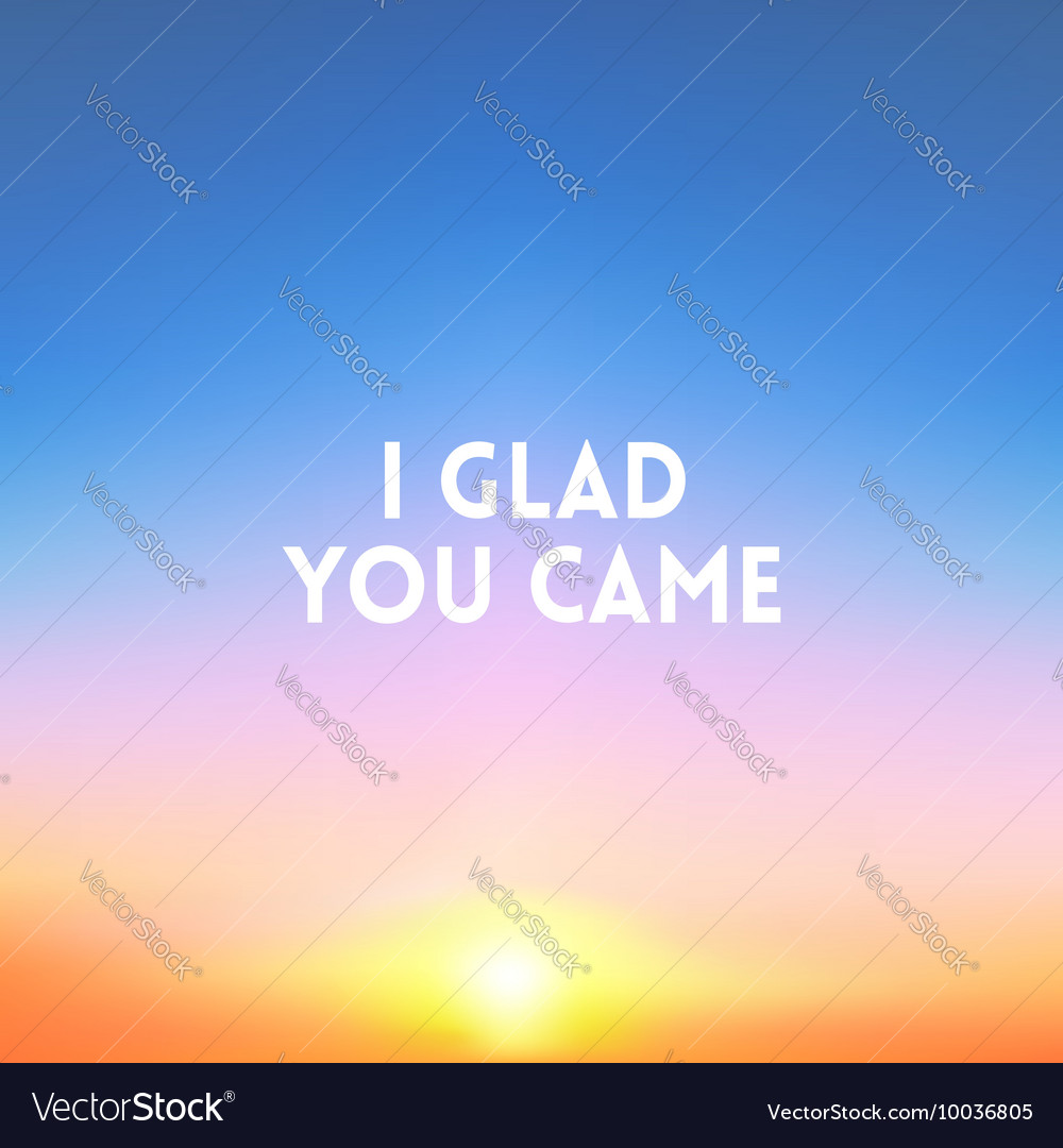 square blurred background sunset colors with vector image