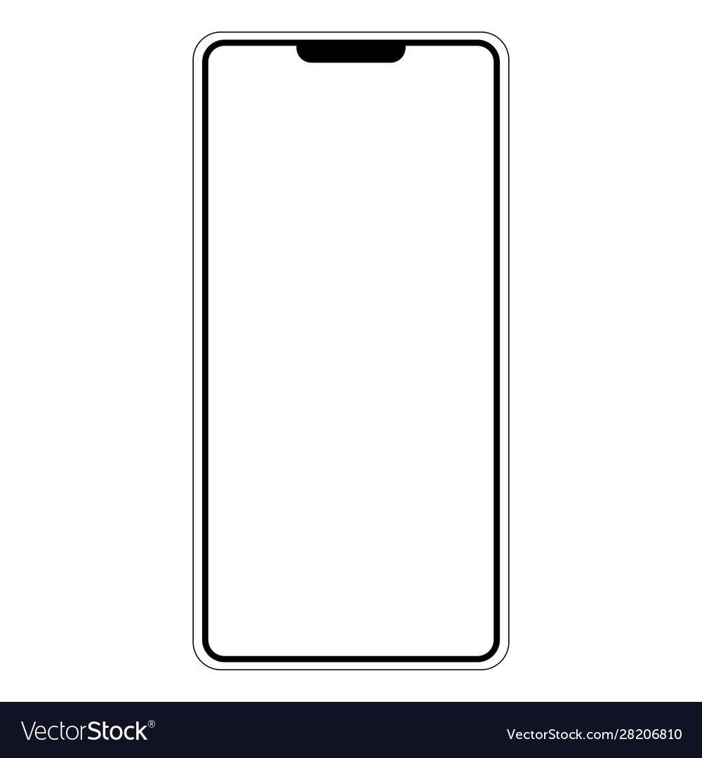 Silhouette shape mobile phone smartphone i am
