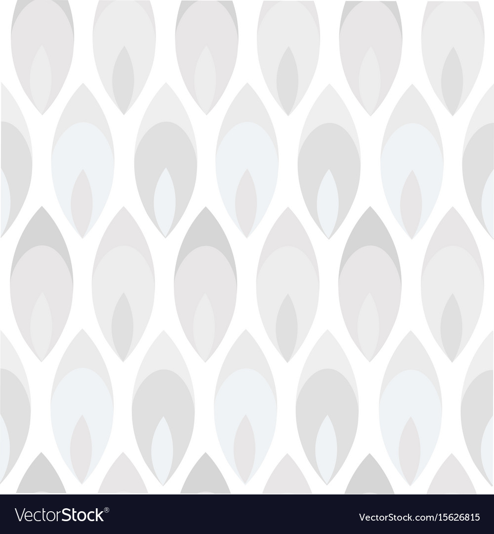 Abstract monochrom background seamless pattern vector image