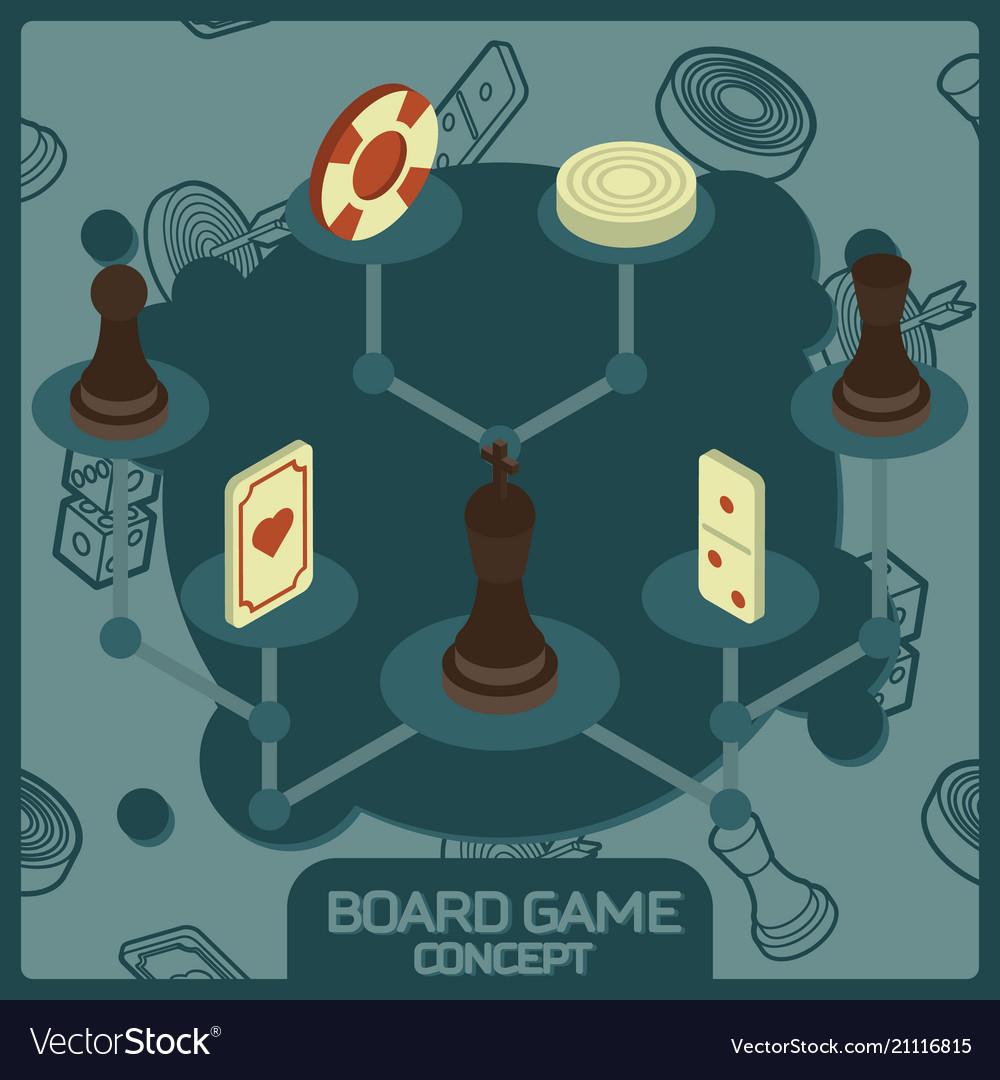 Board game color concept