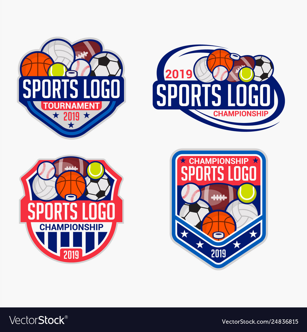 Sports logo badge