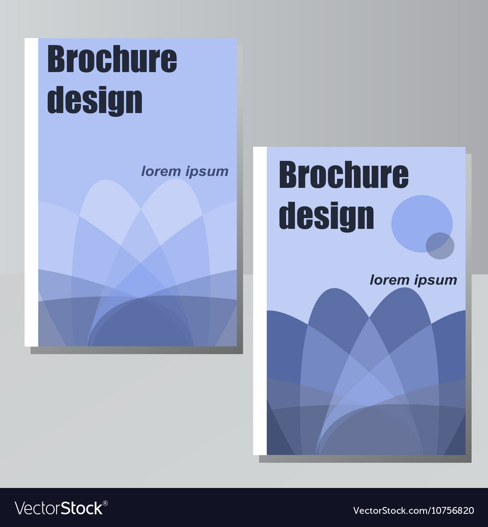 Brochure design for business or