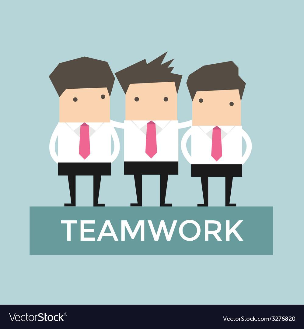Businessman teamwork