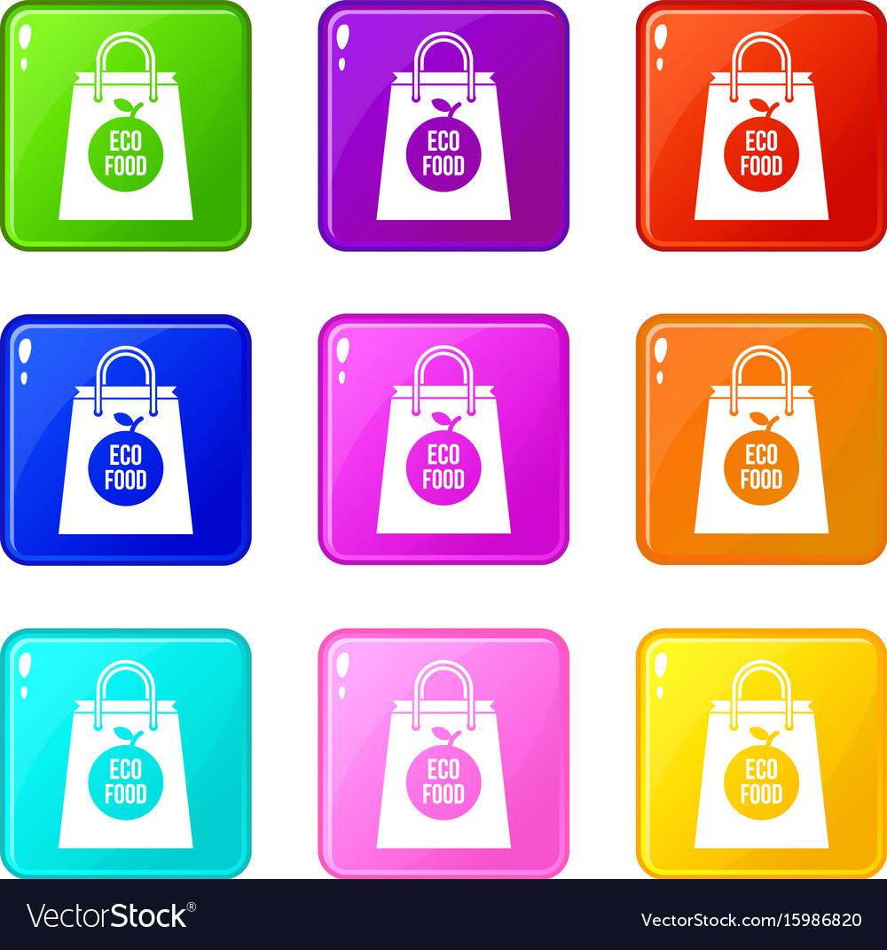 Eco food bag set 9