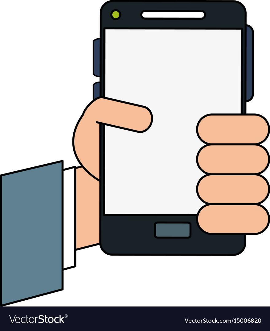 Hand cellphone