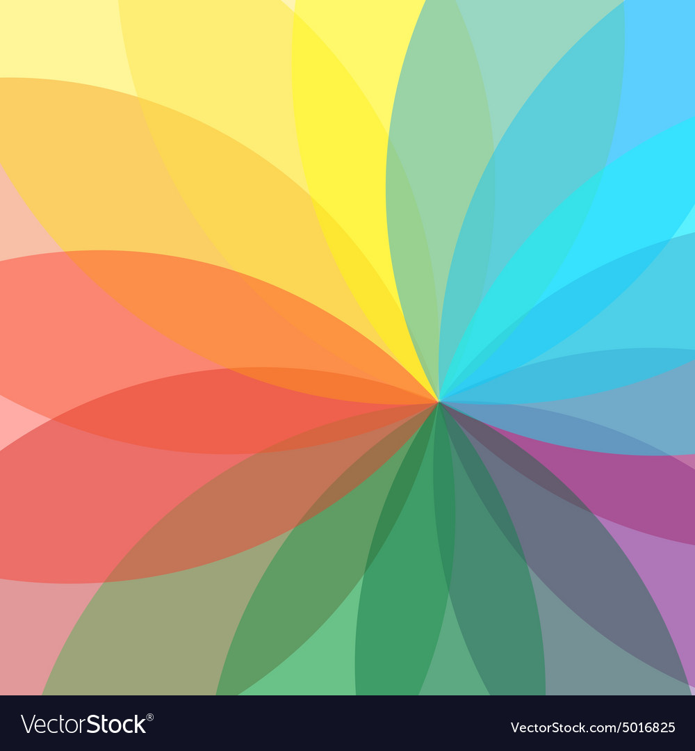 Flower abstract multicolored background