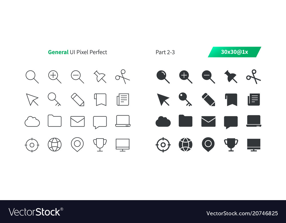 General ui pixel perfect well-crafted thin