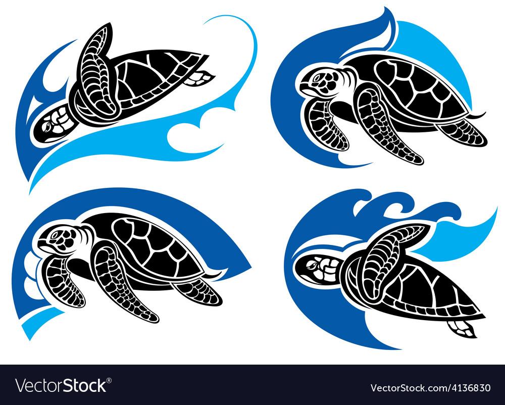 Turtles A Green sea Turtle for Anyone who Loves Turtles 3dRose Macdonald Creative Studios - T-Shirts