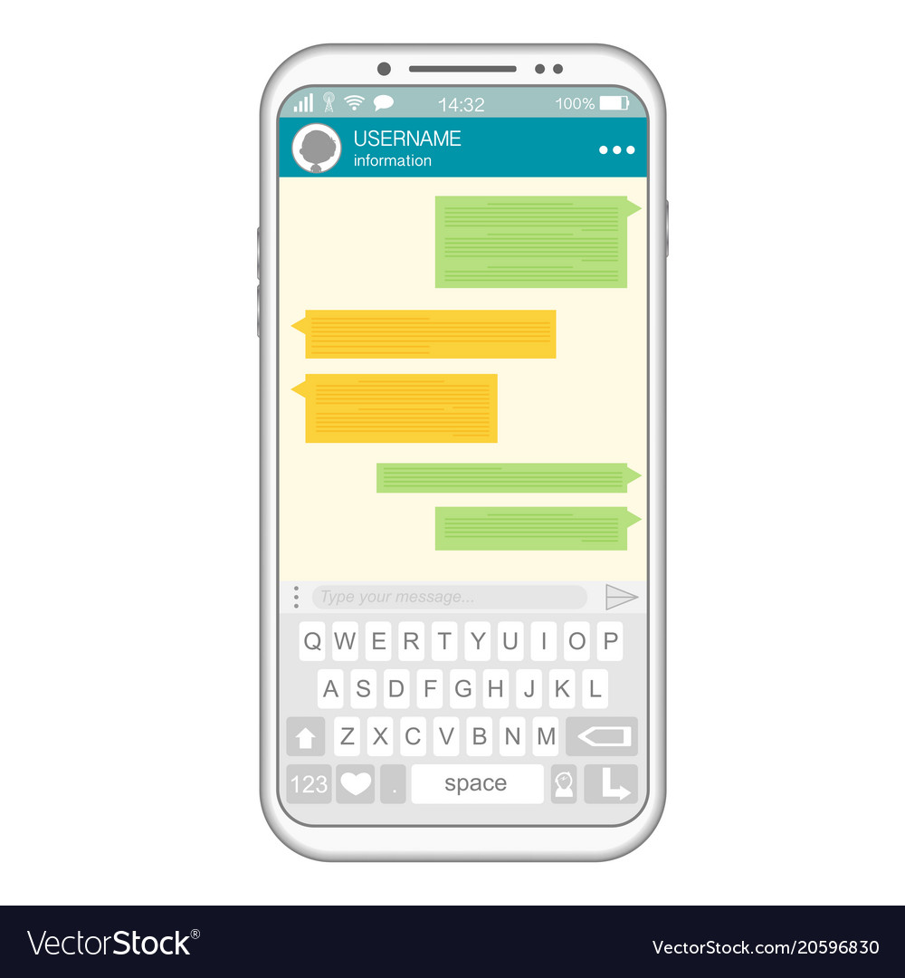 Social messaging chat