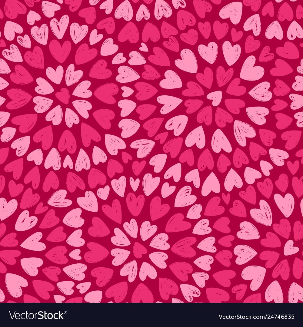 Seamless background romance decorative pattern