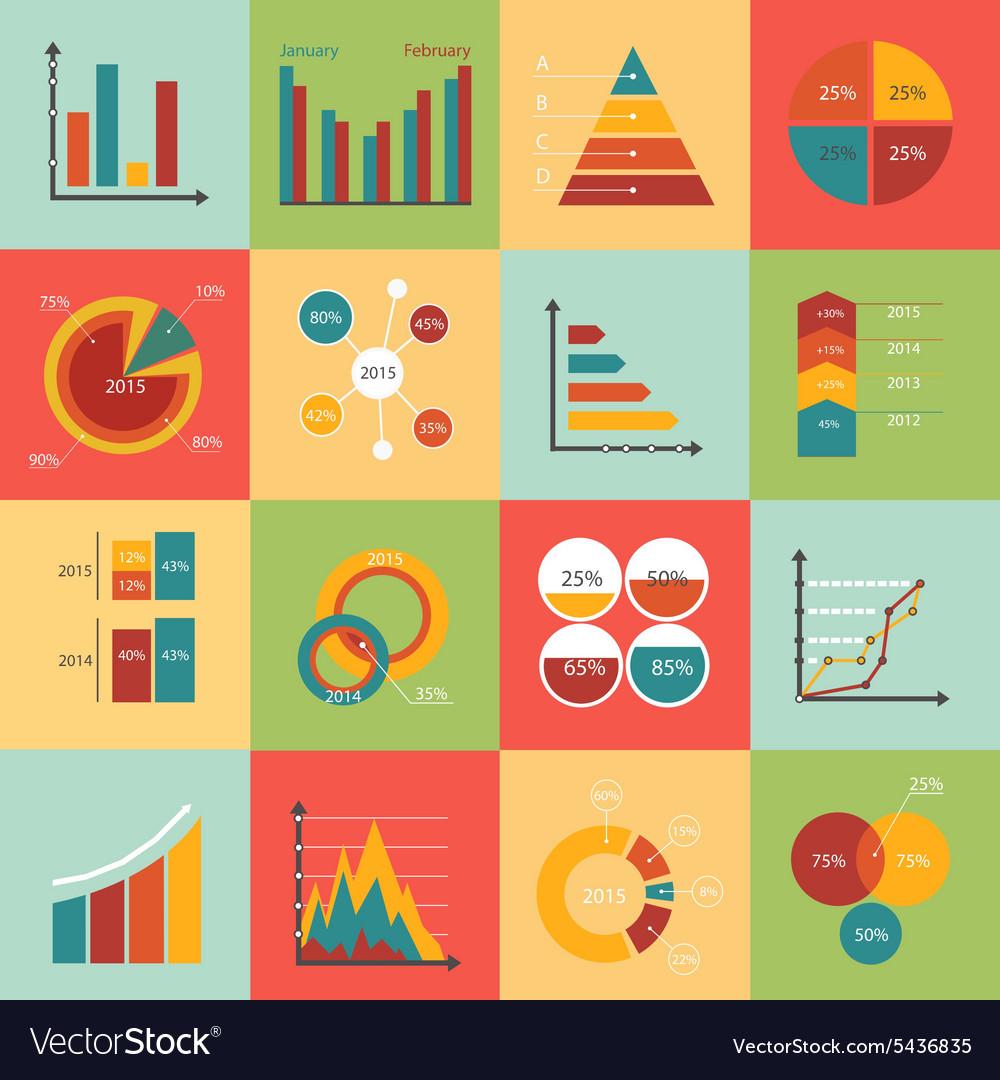 Set business data market elements diagrams
