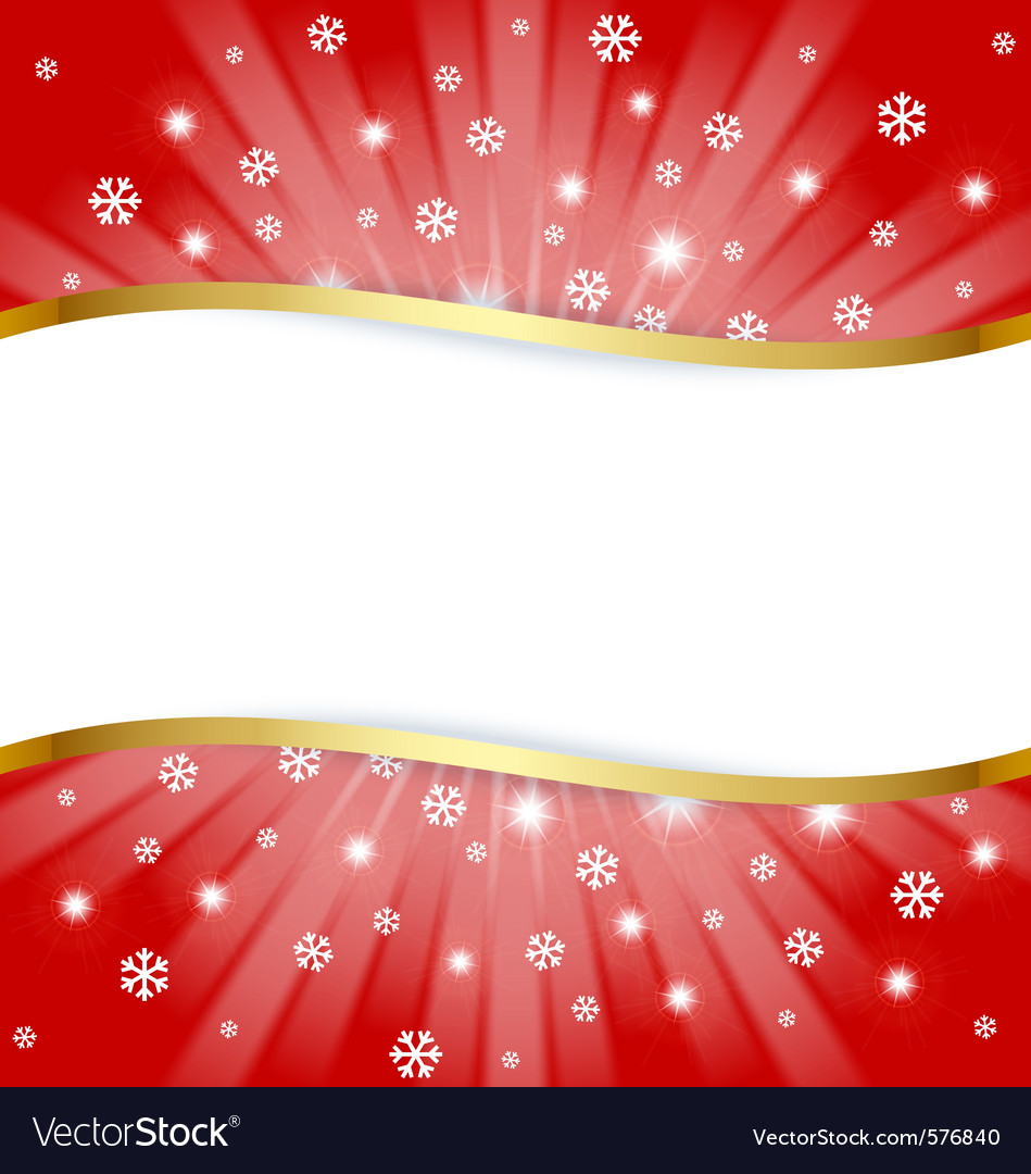Christmas document template Royalty Free Vector Image