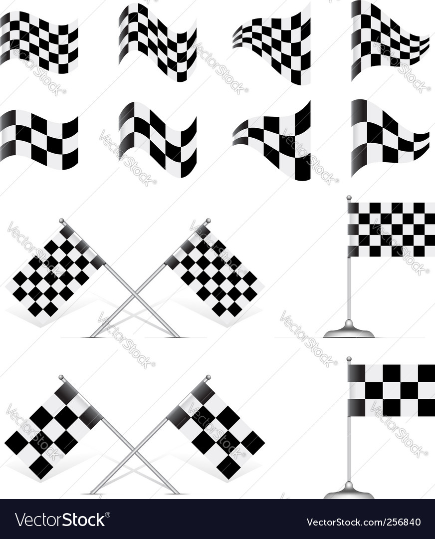 Vector Auto Racing Graphics on Vector 256840 By Mpavlov   Royalty Free Vector Art  Vector Graphics