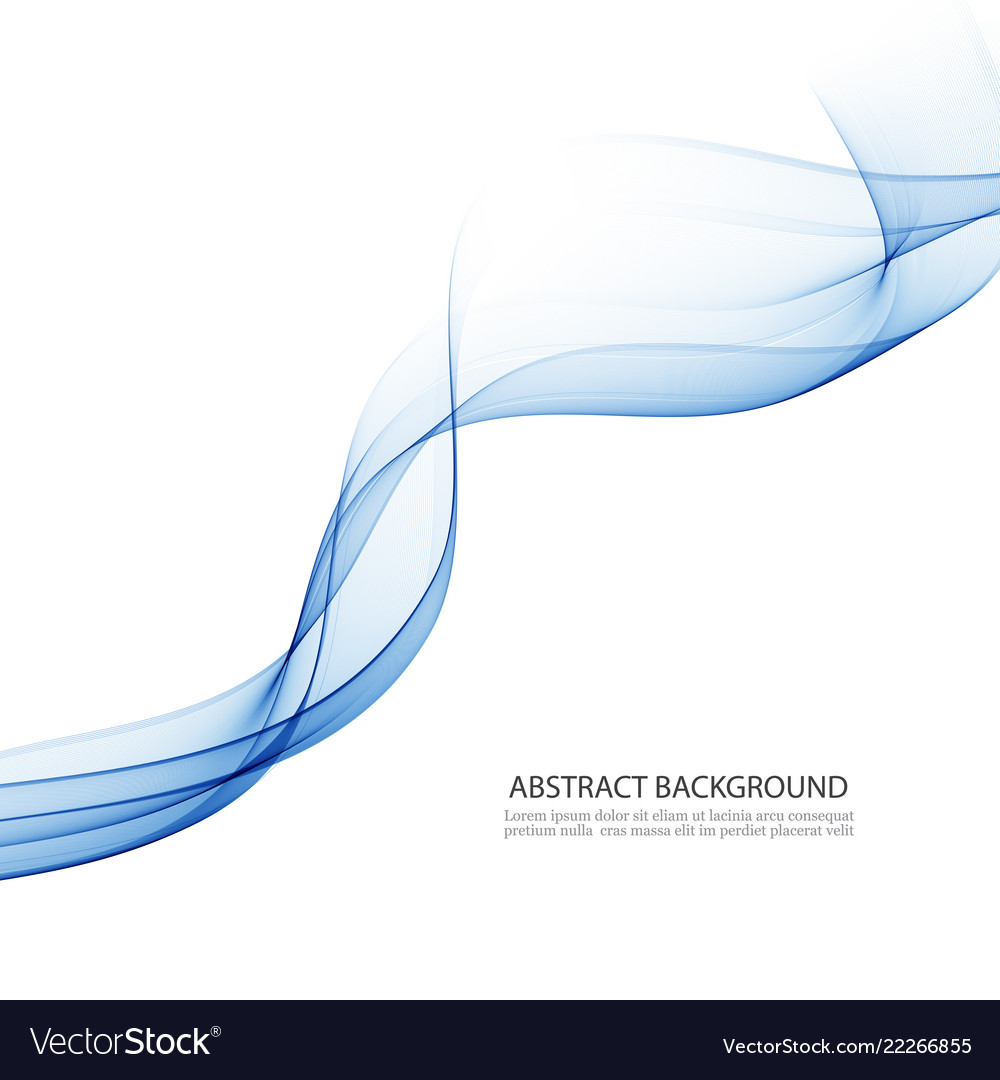 Abstract background transparent waved