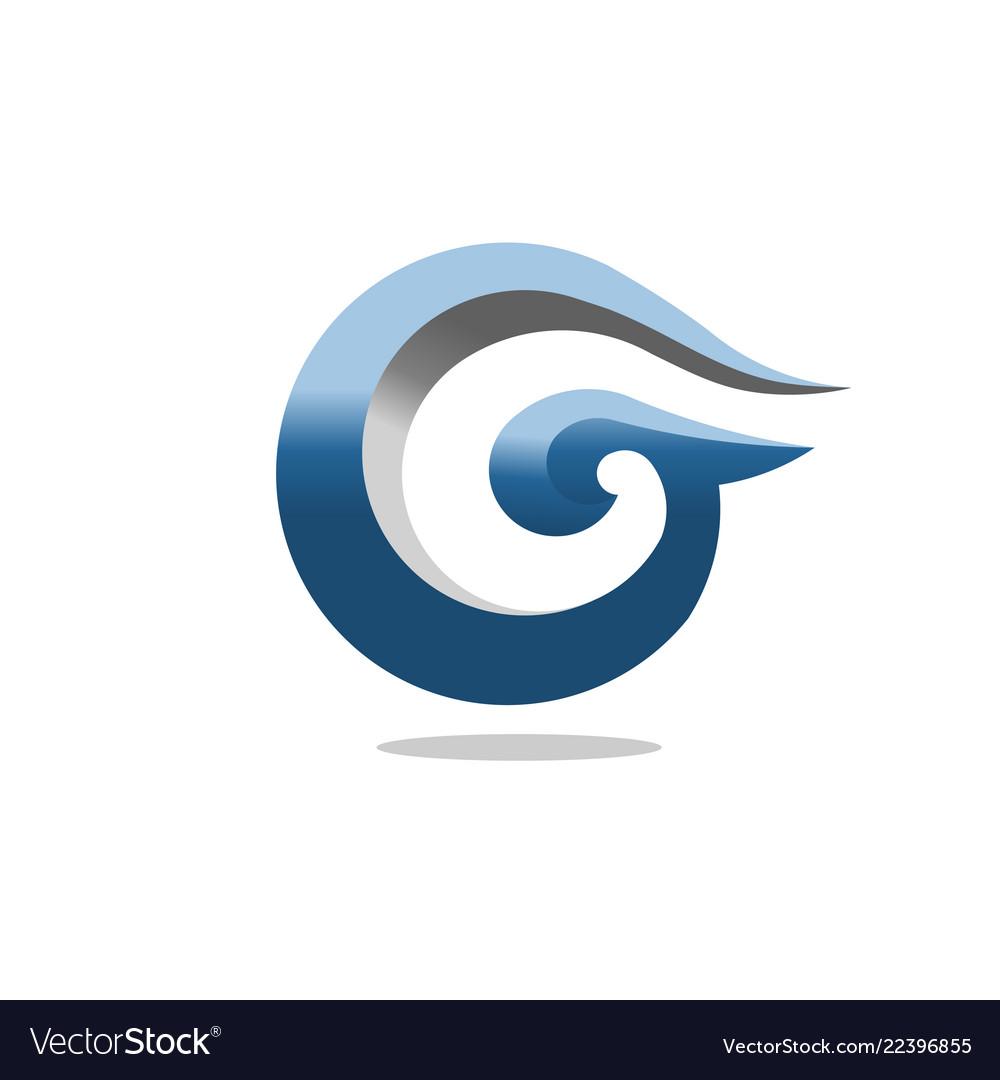 Best letter g 3d art concept business logo design