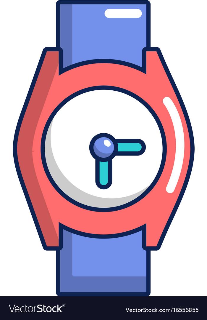 hand watch icon cartoon style royalty free vector image rh vectorstock com watch victoria season 2 watch victorious
