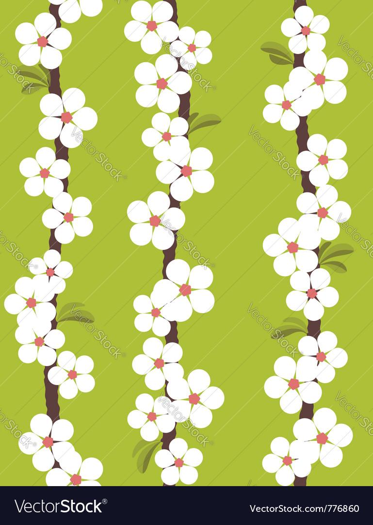 Cherry blossom - seamless pattern