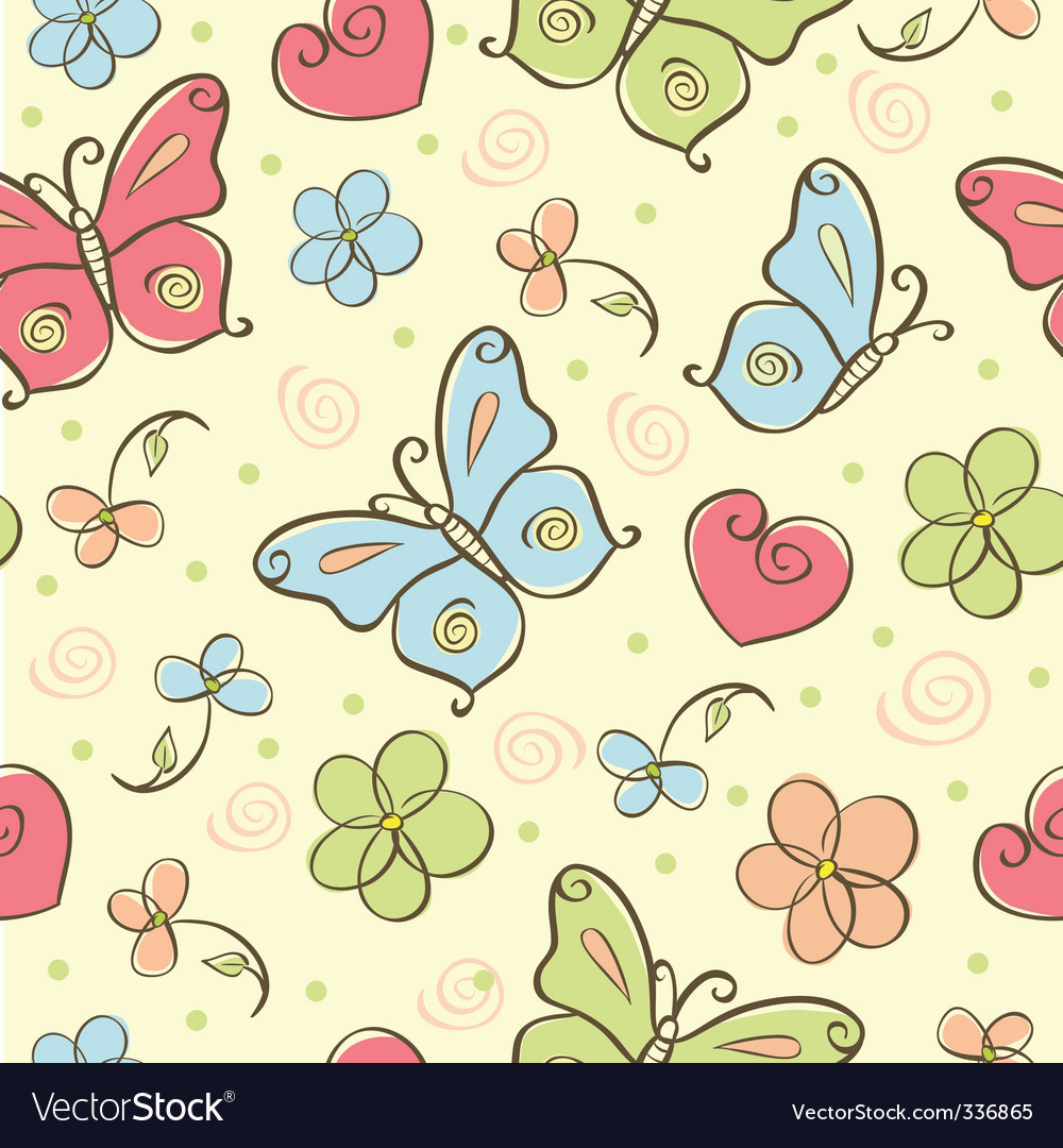 cute background royalty free vector image vectorstock