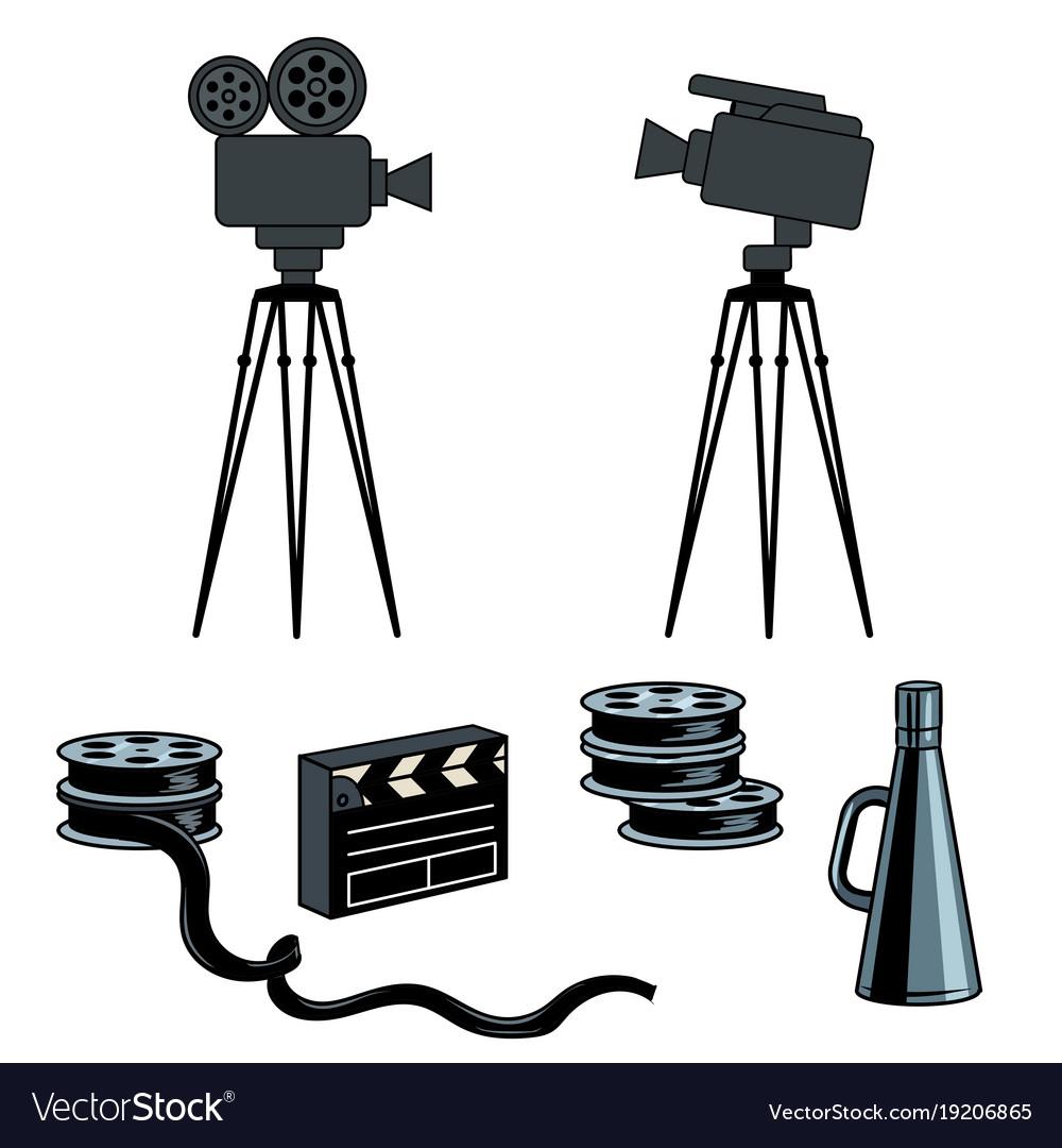 Stage movie tools pop art
