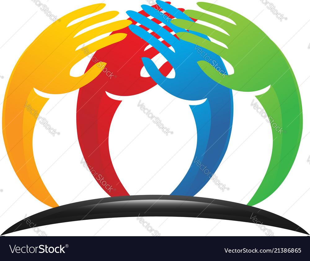Unity charity hands logo