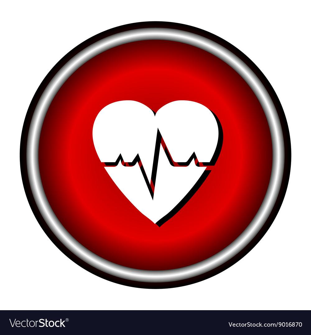 Pulse hearth icon