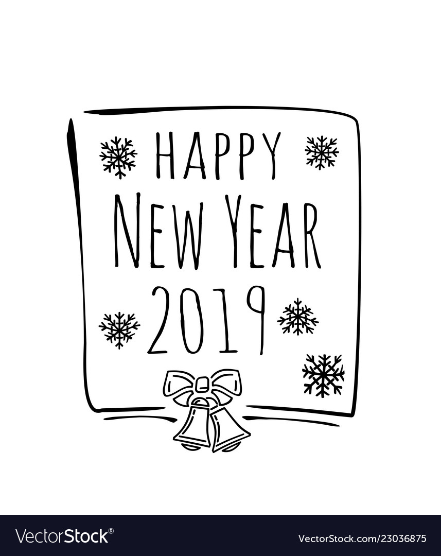 Happy New Year Doodle 4