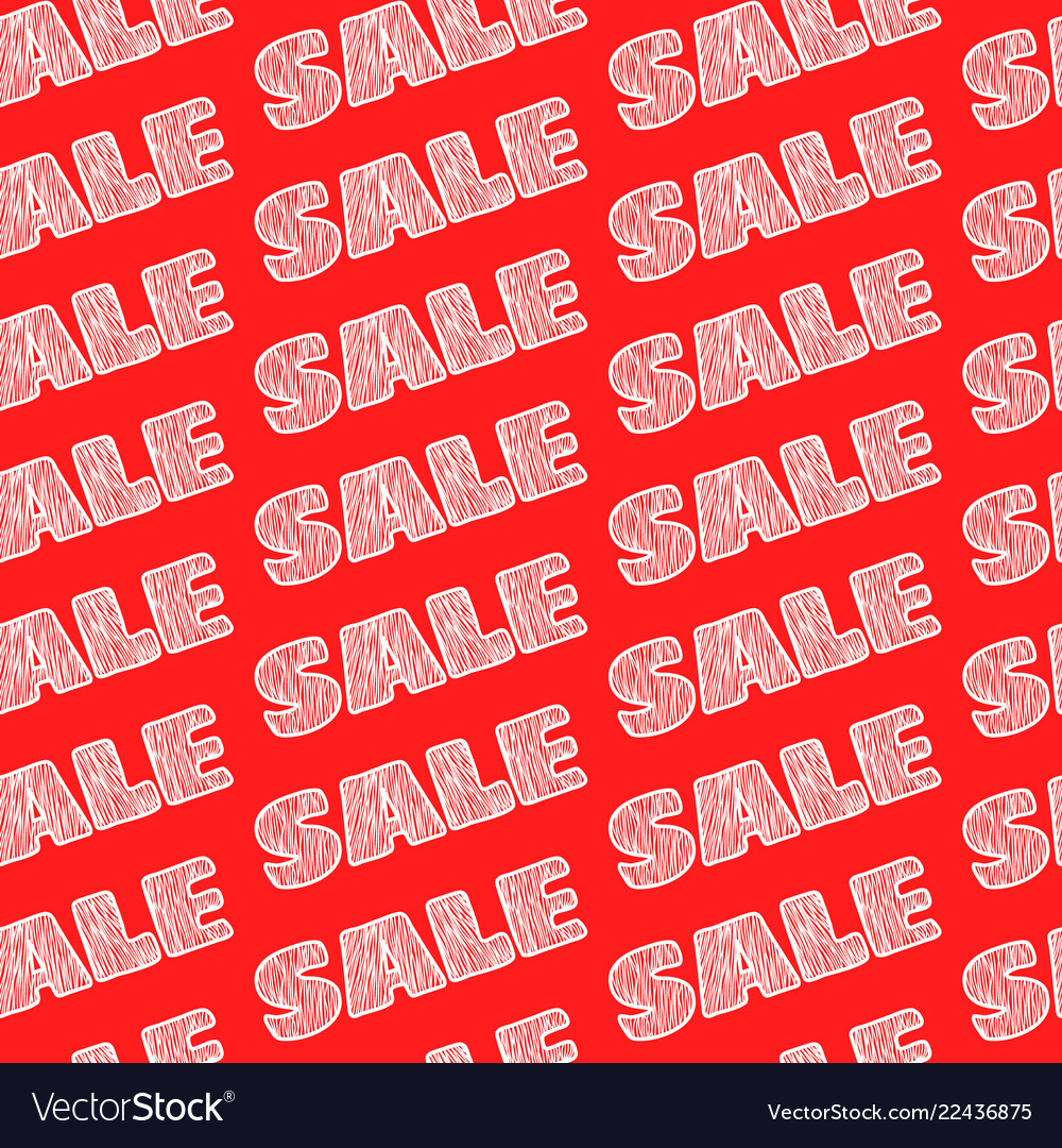 Sale sale sale seamless pattern background