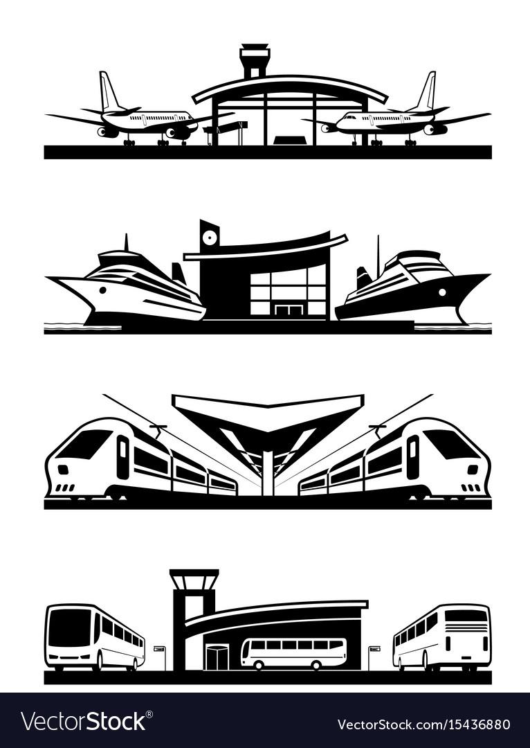 Passenger transport terminals