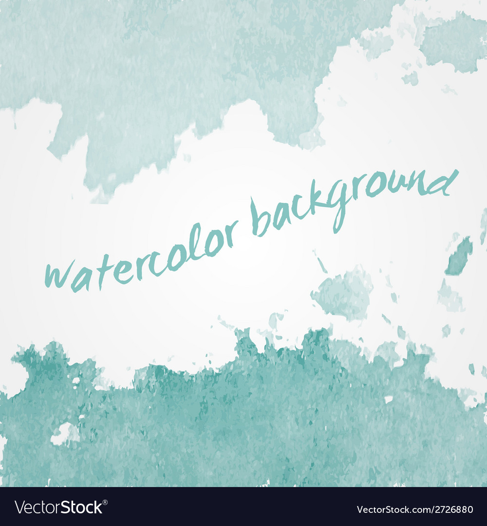 Watercolor background design hand drawn