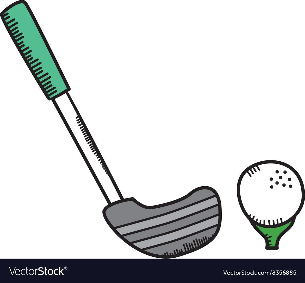 Golf cartoon icon theme