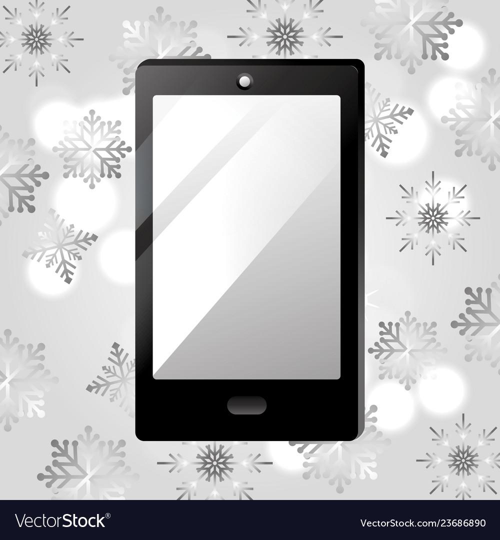 Smartphone gift cartoon