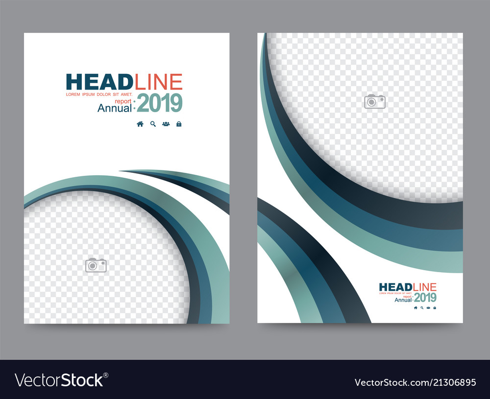 Cover template for brochure