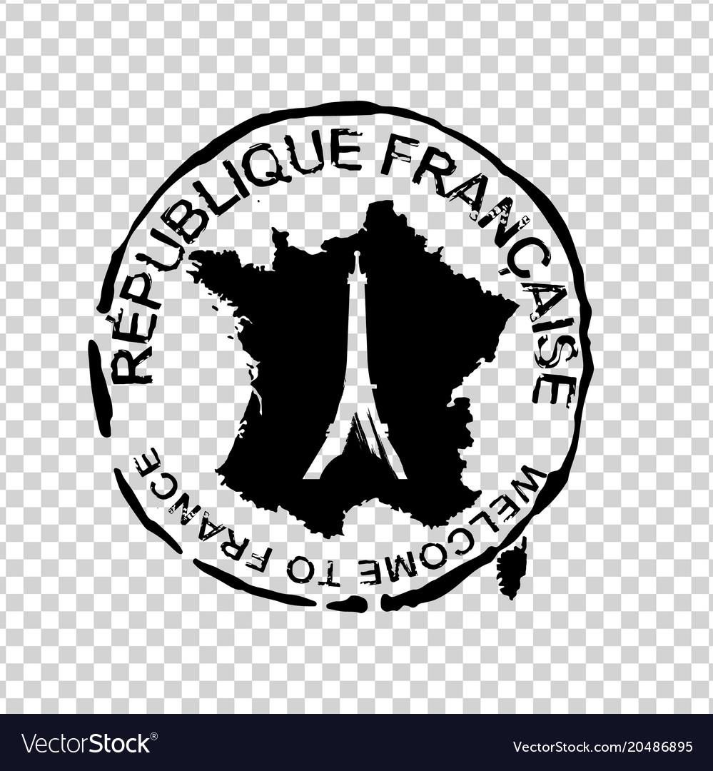 French visa stamp