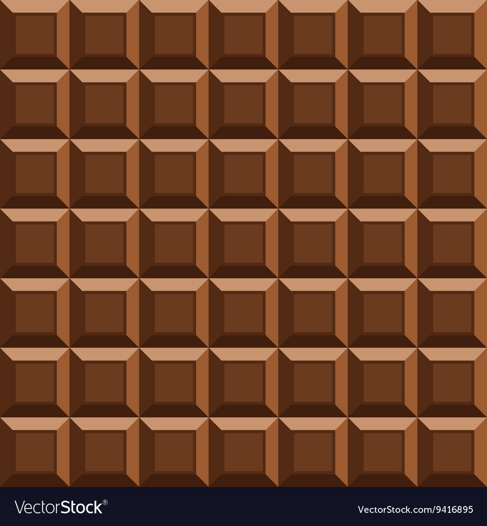 Milk tile chocolate seamless background