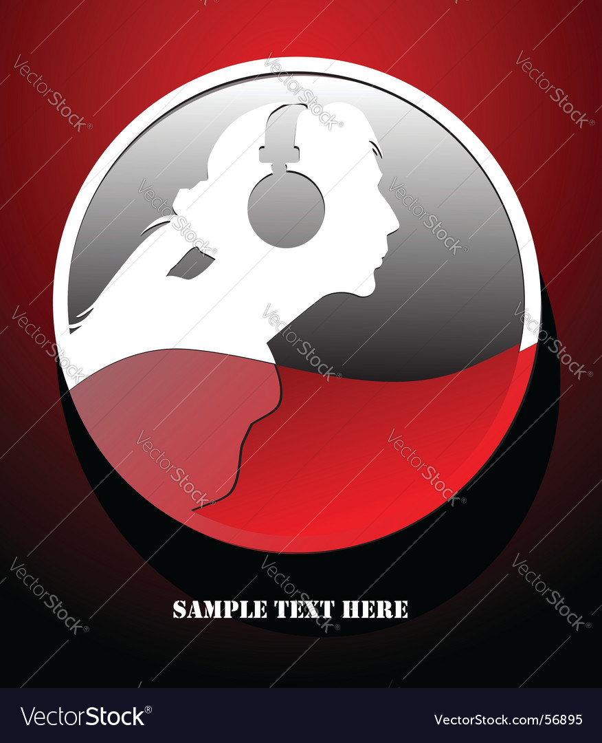 Musical theme graphic vector image