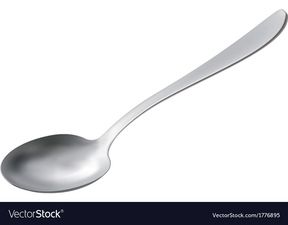 Spoon isolated