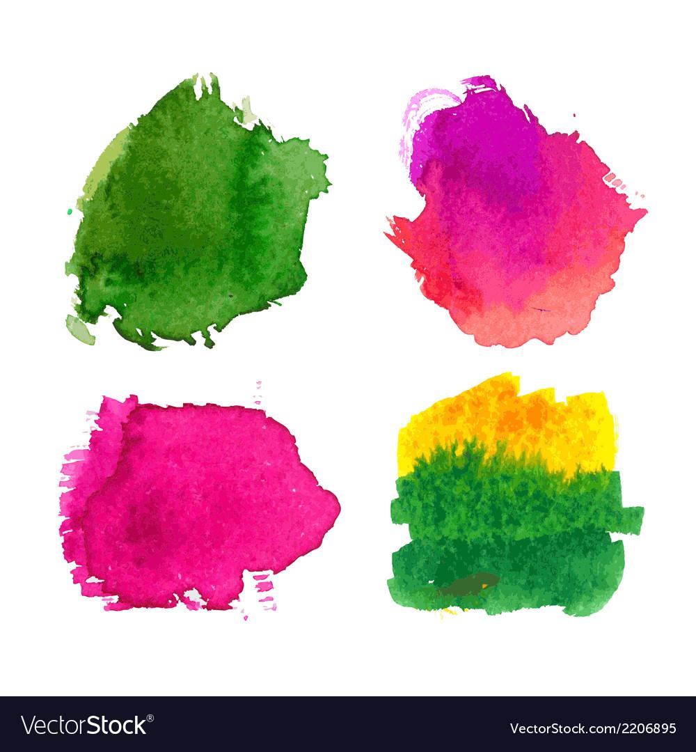 Water-colour blots