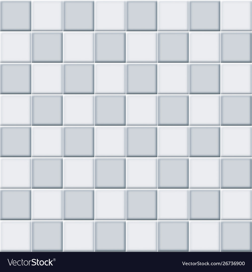 Pattern House Wall Tile Vector Image