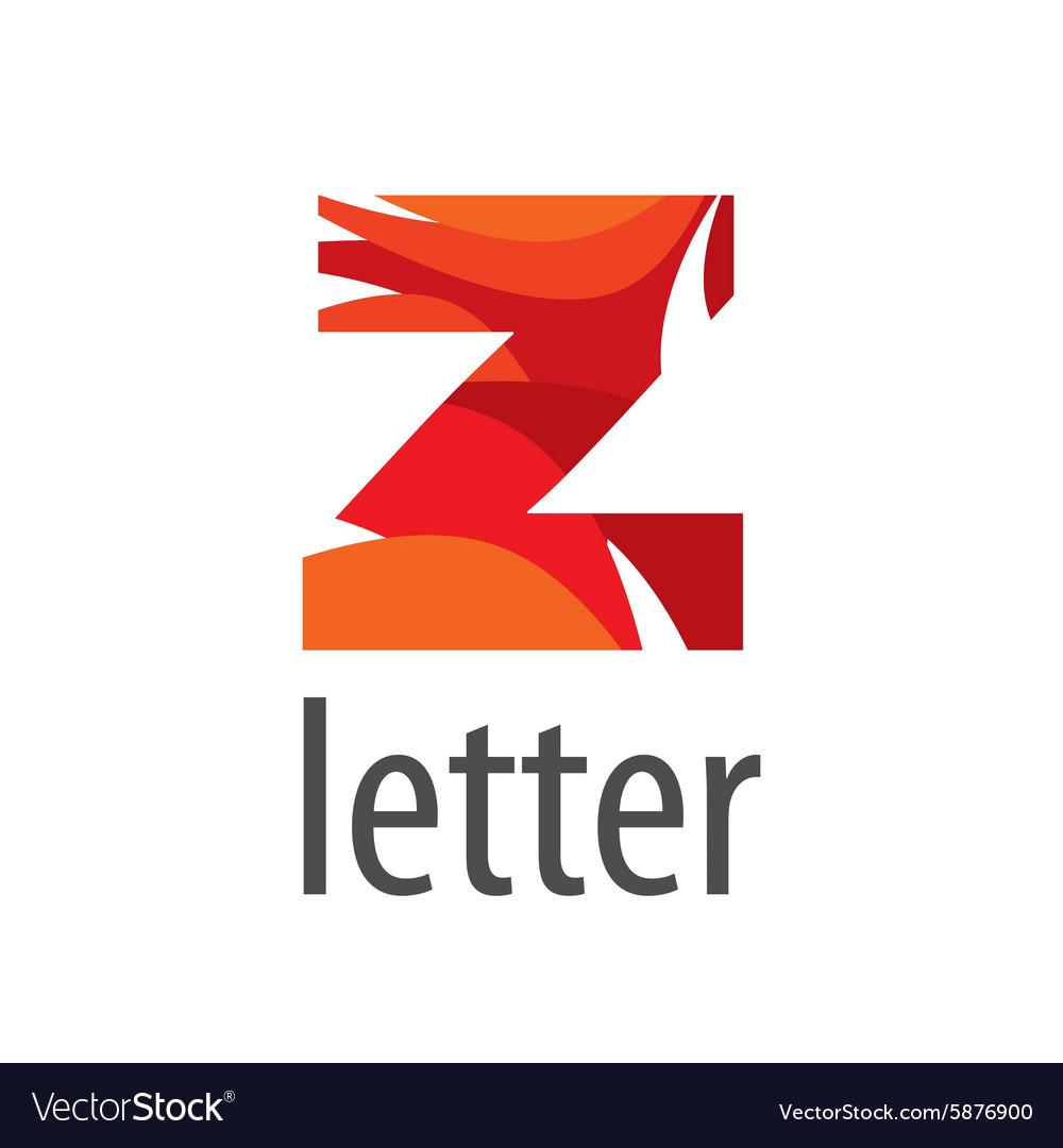 Creative logo colored letter Z