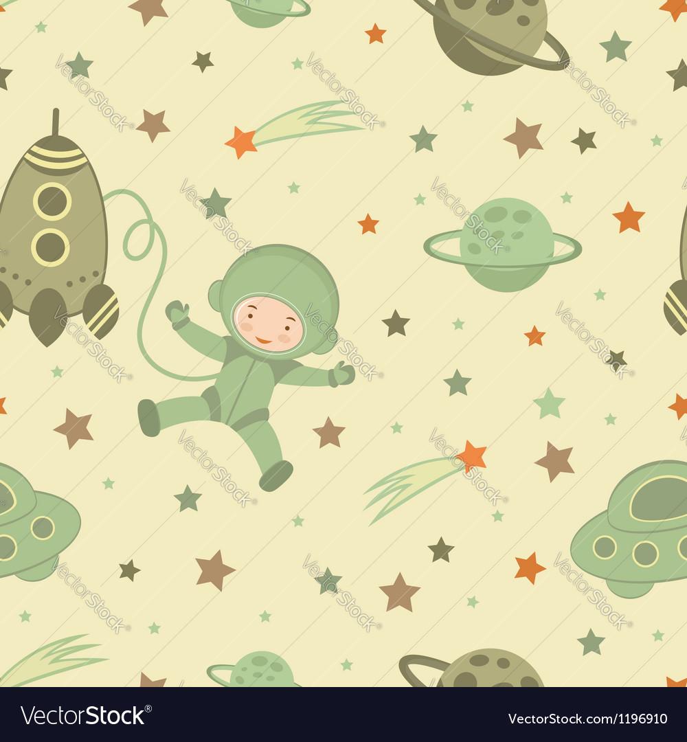 Cosmonaut pattern