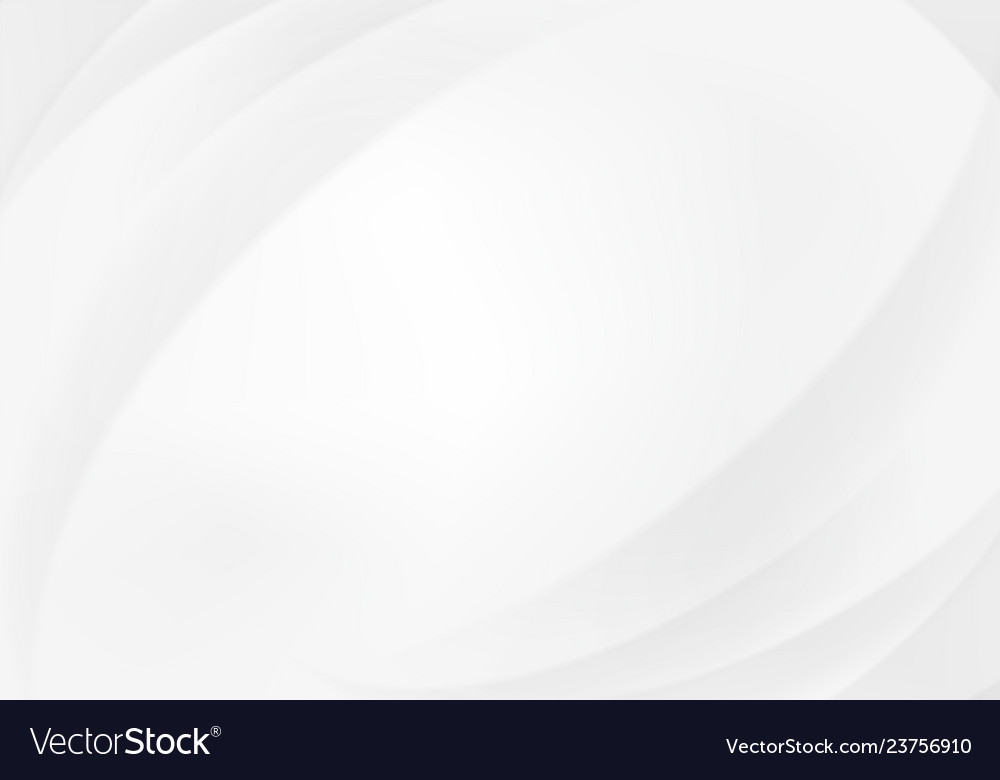 White abstract circular gradient background with
