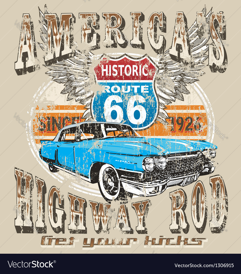Americas highway rod