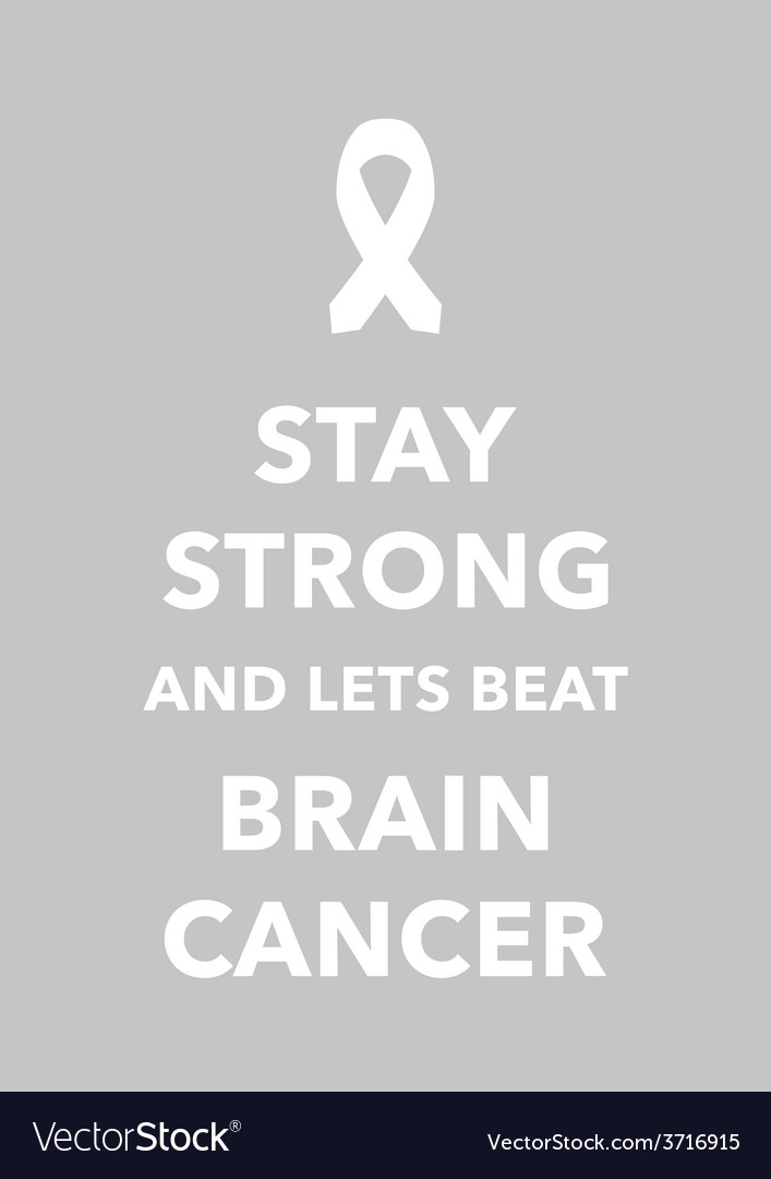 Brain cancer poster