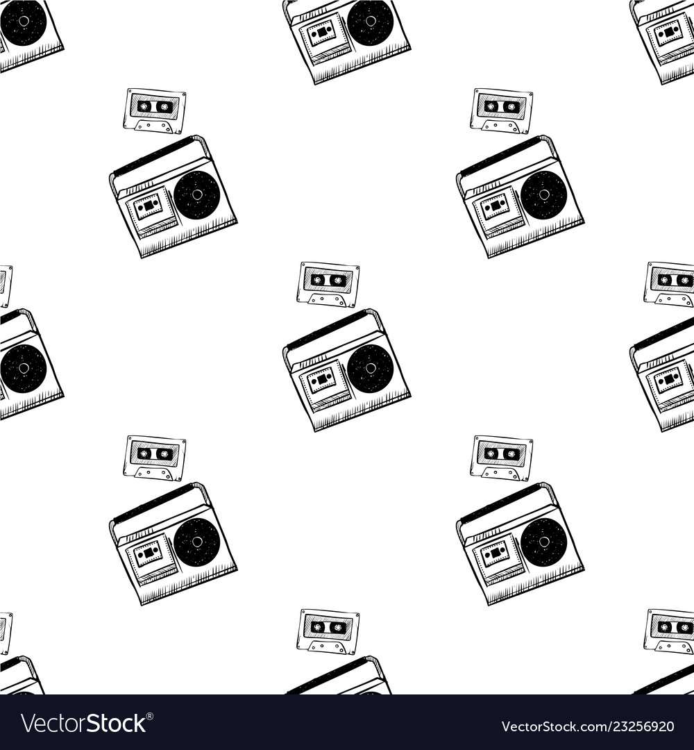 Texture seamless pattern from old vintage retro
