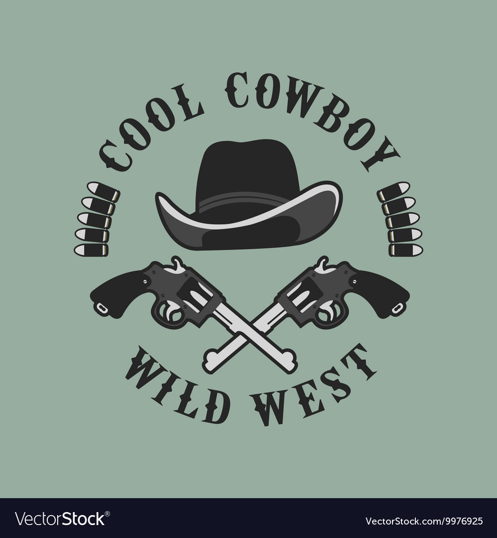 Cowboys emblem on a white background
