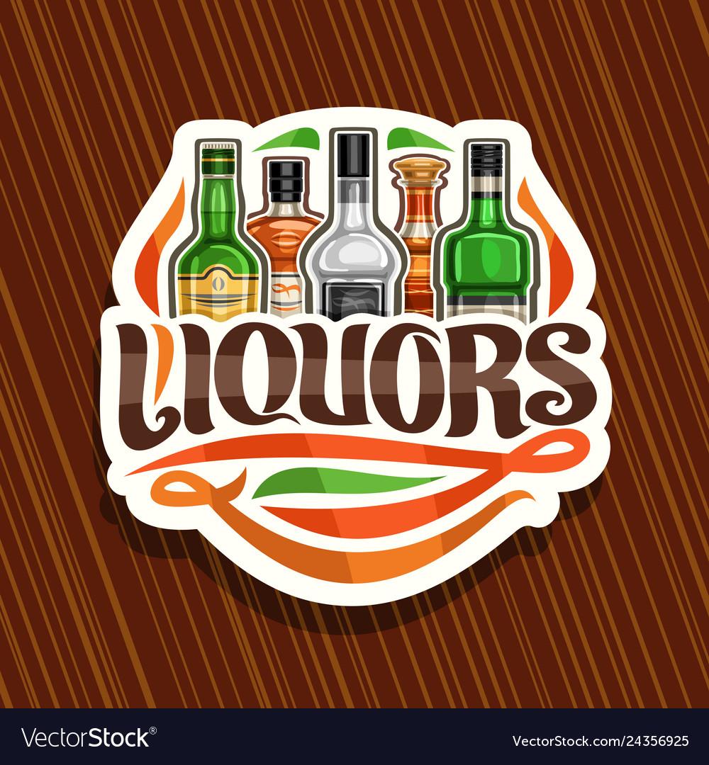 Logo for liquors